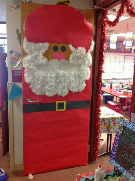Santa Door Decoration by Top Teaching It S Beginning To Look A Lot Like