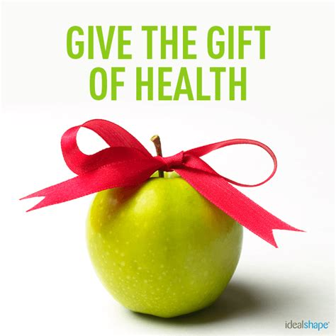 And Give The Gift Of how to give the gift of health without offending idealshape