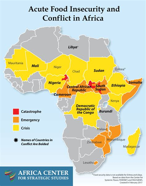 africa map yemen famine in nigeria south sudan and yemen drought in kenya