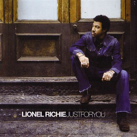 25 Just For You by Lionel Richie Fanart Fanart Tv