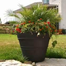 commercial planters large planters