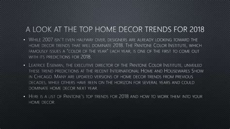 home design trends for 2018 a look at the top home decor trends for 2018