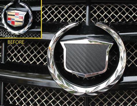 cadillac v emblem find cadillac cts v vinyl carbon fiber emblem decals 2003