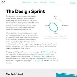 design google ventures google ventures design sprints pearltrees