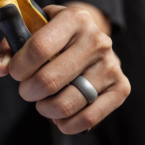 Silicone Wedding Ring Men Women Rubber Band Comfortable