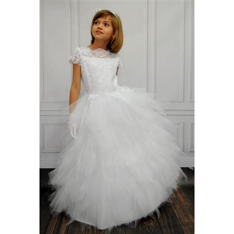 Handmade Communion Dresses - amazing handmade holy communion dress style carmelitta