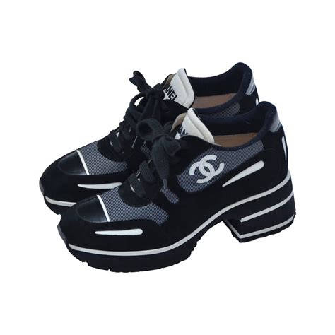 white chanel sneakers chanel sneakers white clothing from luxury brands
