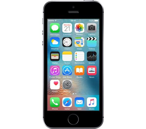 iphone one apple iphone se 32 gb space grey deals pc world