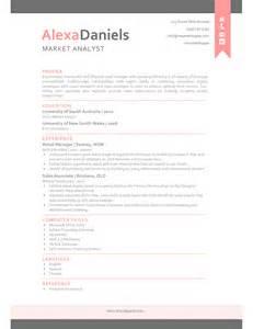 the alexa resume creative resume template