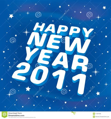 new year song royalty free happy new year 2011 greeting card stock vector image