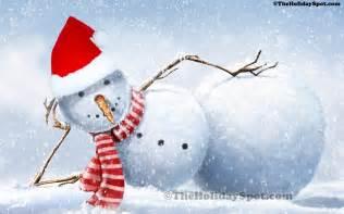Christmas Snowman Wallpaper » Home Design 2017