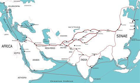 silk road map the silk road illustration ancient history encyclopedia