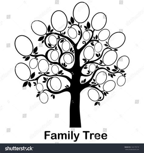 Family Tree Frames Empty Your Input Stock Vector 144179719 Shutterstock Family Tree Template Empty Frames Photos Stock Vector 656586004
