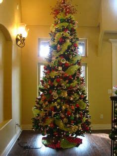 why is tree decorated slim trees happy holidays