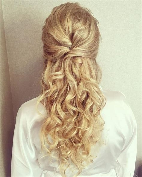 top 3 half up half wedding hairstyles to try