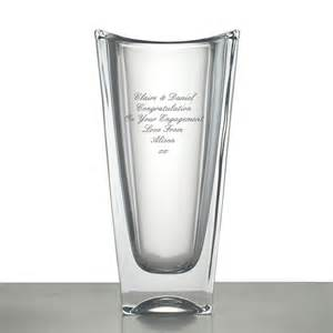 Large Vases For Sale Engraved Okinawa Crystal Vase Personalised By