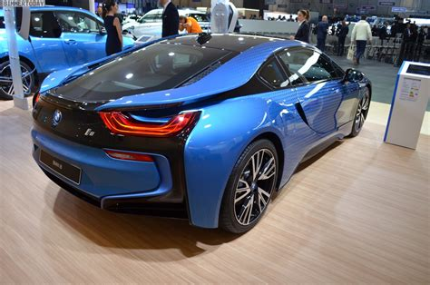 bmw i8 2017 geneva bmw i8 crossfade edition in the garage italia