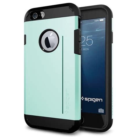 spigen tough armor s for iphone 6 6s mint sgp11042 b h