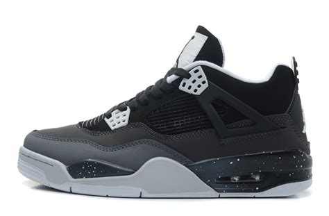 Air 4 Black Cool Grey by Air 4 Retro Fear Black White Cool Grey Platinum For Sale