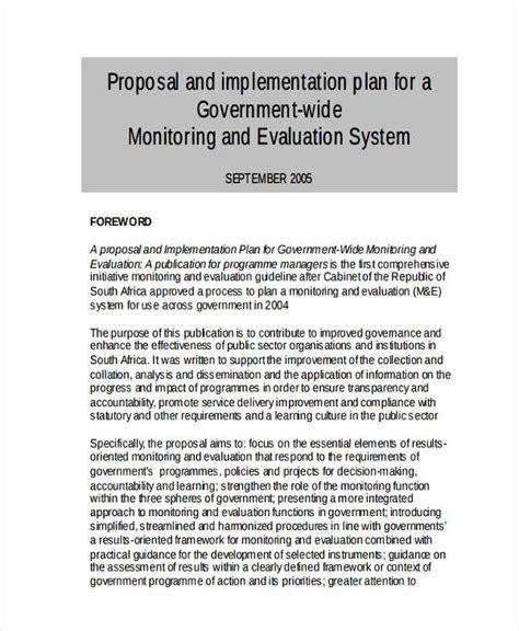 design implementation proposal 45 exles of implementation plans