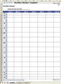weekly calendar with hours template 4 printable weekly calendar with hours ganttchart template