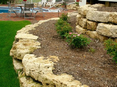 retaining walls and outcroppings treetops landscape design inc