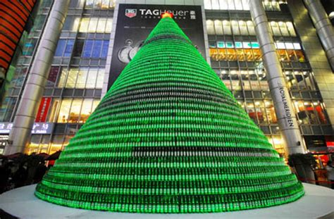 beer bottle christmas tree lyke2drink what will santa leave your can or bottle tree