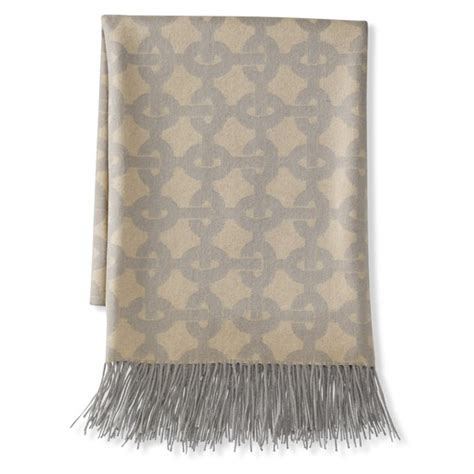 grey patterned throws chain link patterned jacquard cashmere throw light gray