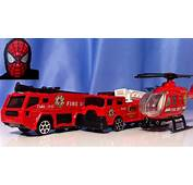 Toy Fire Trucks Lorry Helicopter Car  YouTube
