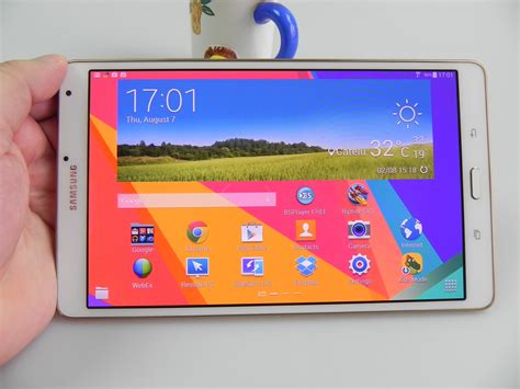 samsung galaxy tab s 8 4 review best screen on a tablet solid ui still