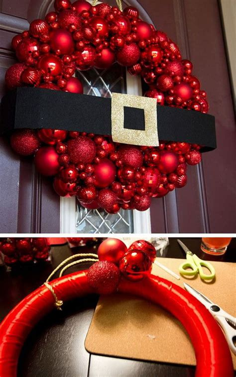 christmas decorations diy 20 creative diy christmas door decoration ideas noted list