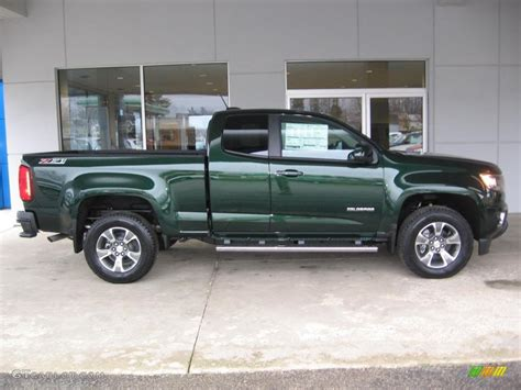 chevy colorado green rainforest green metallic 2016 chevrolet colorado z71