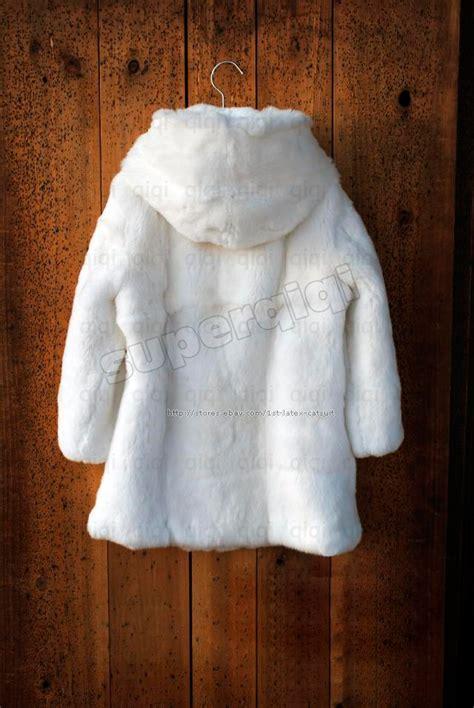 New Jaket Hoodie Rabbit Kid Murah 100 real genuine rex rabbit fur kid coat jacket