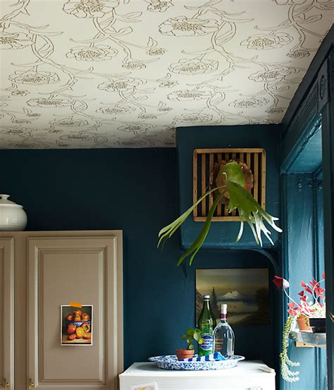 ceiling wallpaper design trend wallpaper featured on the ceiling