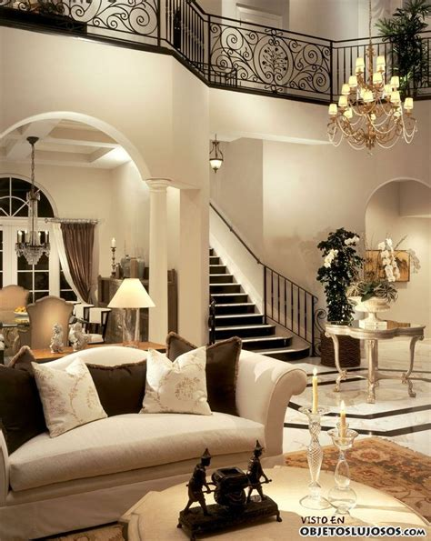 glamorous homes interiors interiores de lujo en color blanco