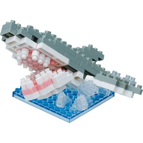 Nanoblock Great White Shark nanoblock great white shark splash sense