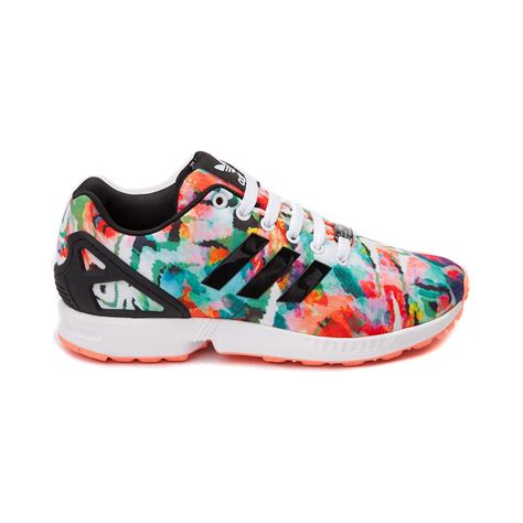 womens adidas running shoes womens adidas zx flux athletic shoe multi 436181