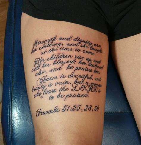 tattoos of bible verses scripture tattoos for ideas and designs for