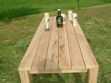 terrasse tisch selber bauen gartentisch holz selber bauen bvrao