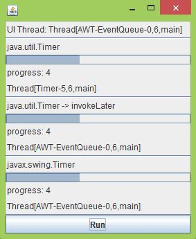 swing timer java java buddy java util timer and javax swing timer