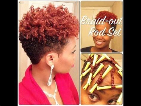 pixie cut with rods perms pixie hairstyles and natural on pinterest