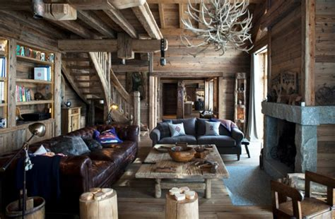 dekoideen wohnzimmer innendesign ideen im chalet stil die sie bewundern