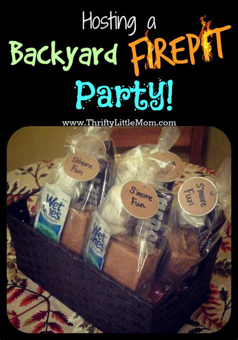 hosting party tips for hosting a backyard fire pit party