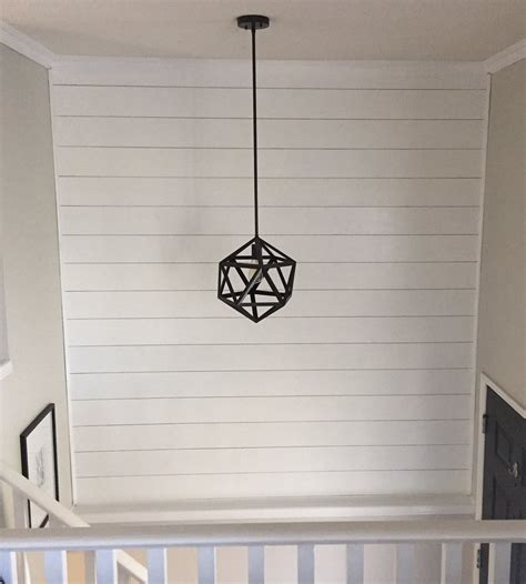 8 Inch Shiplap Shiplap Entryway Update The Drawer