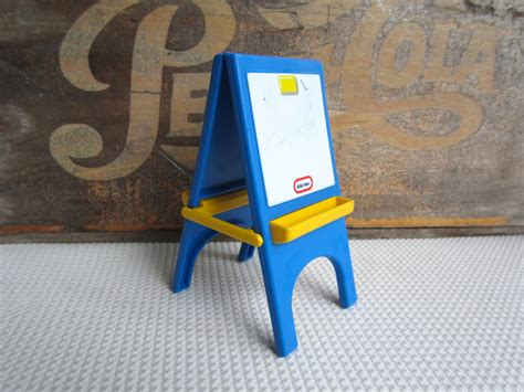 little tikes art desk and easel vintage little tikes art easel chalkboard dollhouse furniture