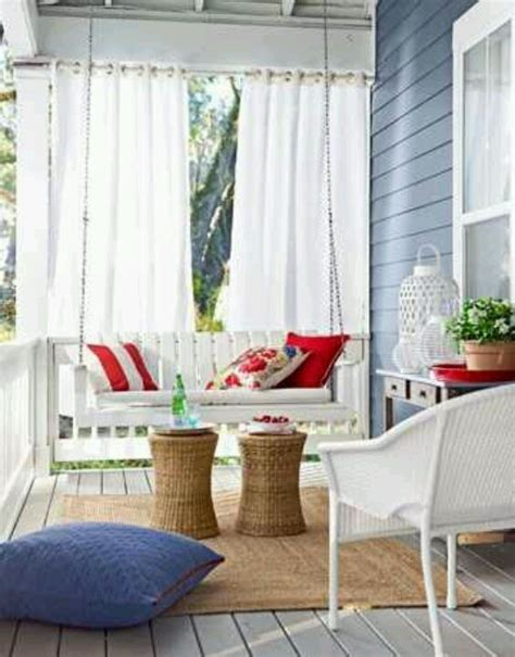 front porch curtains front porch love the drapes home sweet home pinterest