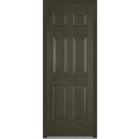 36 X 96 Wood Front Door by Mmi Door 36 In X 96 In Right Inswing 6 Panel