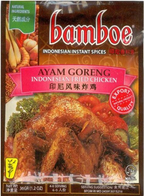 ayam goreng fried chicken  oz  bamboe