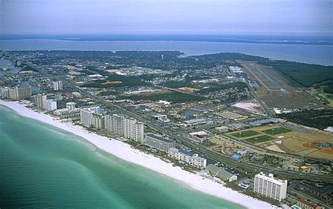 Walton County Florida Records Airphoto Aerial Photograph Of Fort Walton Walton County Florida 12692