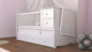 Newjoy laura cot bed with 5 storage drawers